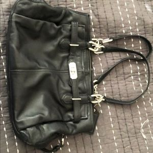Coach Purse with Multiple Pockets